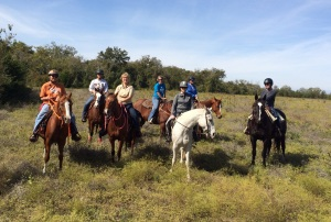 Trail ride with the Rocking B Riders